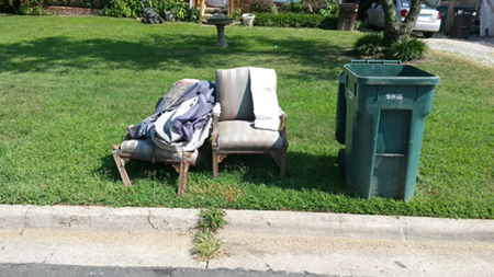The Cost Is $22.50 Per Item Or For A Mattress Set. Contact Waste Management  At (800) 972 4545 To Pay For And Schedule A Pickup For The Same Day As Your  ...